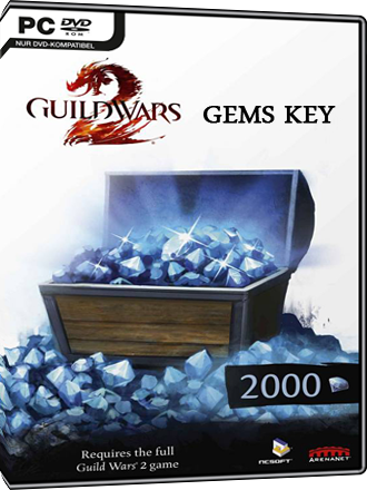 Clave 2000 gemas Guild Wars 2 Screenshot