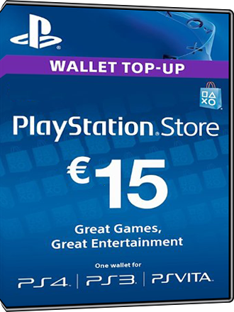 Playstation Network Card 15 Euro [FR] Screenshot