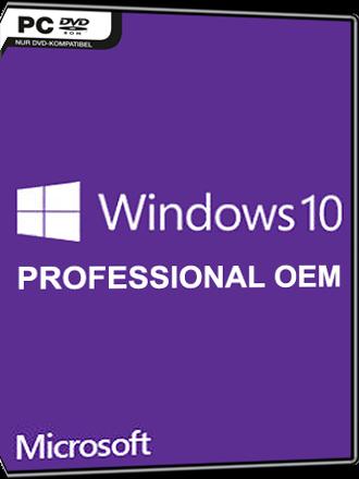 Comprar Microsoft Windows 10 Professional OEM - MMOGA