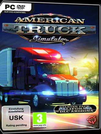 comprar american truck simulator ats game key mmoga. Black Bedroom Furniture Sets. Home Design Ideas