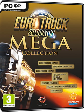 Euro Truck Simulator Mega Collection Screenshot