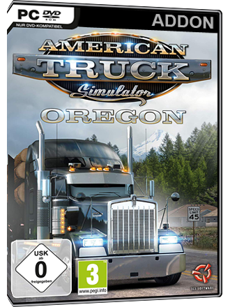 American Truck Simulator - Oregon (DLC) Screenshot