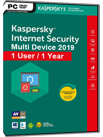 Kaspersky Internet Security Multi-Device 2019 (1 User / 1 Year) Screenshot
