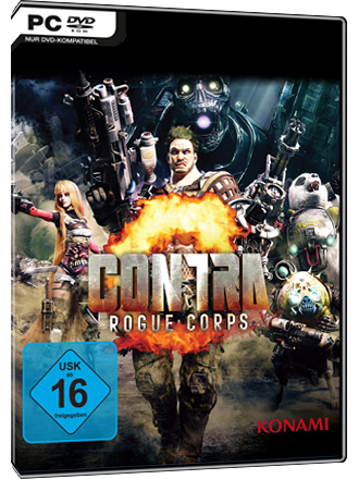 Contra - Rogue Corps Screenshot