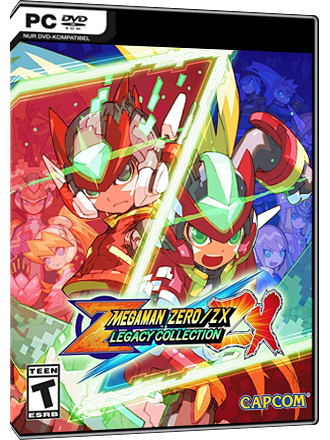 Mega Man Zero / ZX Legacy Collection Screenshot