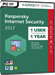 Kaspersky Internet Security 2017 (1 Usuario / 1 Año)