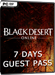 Black Desert Online - 7 Days Guest Pass