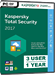 Kaspersky Total Security 2017 (3 Usuarios / 1 Año)