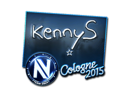 Pegatina | kennyS (reflectante) | Colonia 2015