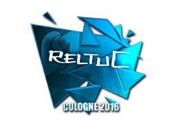 Pegatina | reltuC (reflectante) | Colonia 2016
