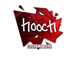 Pegatina | hooch (reflectante) | Colonia 2016