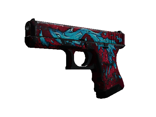 Glock-18 StatTrak™ | Elemental de Agua (Deplorable)