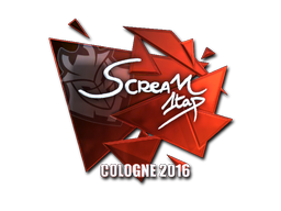 Pegatina | ScreaM (reflectante) | Colonia 2016
