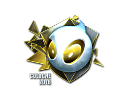 Pegatina | Team Dignitas (reflectante) | Colonia 2016