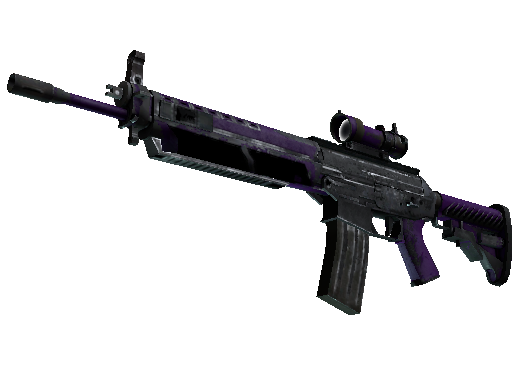 SG 553 StatTrak™ | Ultravioleta (Deplorable)