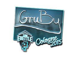 Pegatina | GruBy (reflectante) | Colonia 2015