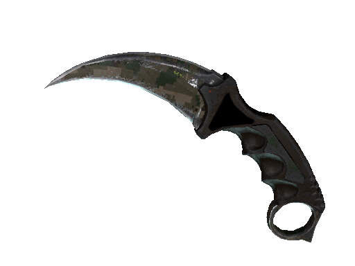 Karambit ★ StatTrak™ | DDPAT de Bosque (Deplorable)