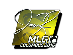 Pegatina | jasonR (reflectante) | MLG Columbus 2016