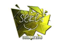 Pegatina | seized (reflectante) | Colonia 2016