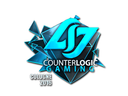 Pegatina | Counter Logic Gaming (reflectante) | Colonia 2016