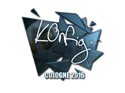 Pegatina | k0nfig (reflectante) | Colonia 2016