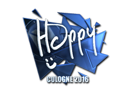 Pegatina | Happy (reflectante) | Colonia 2016