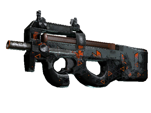 P90 StatTrak™ | Trigonal (Deplorable)