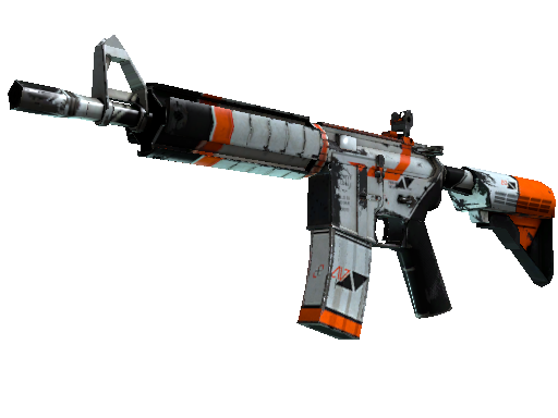 M4A4 StatTrak™ | Asiimov (Deplorable)