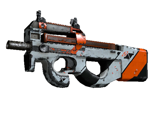 P90 | Asiimov (Deplorable)