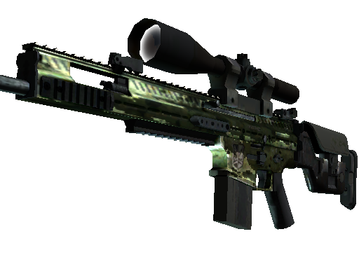 SCAR-20 | Verde Marino (Deplorable)