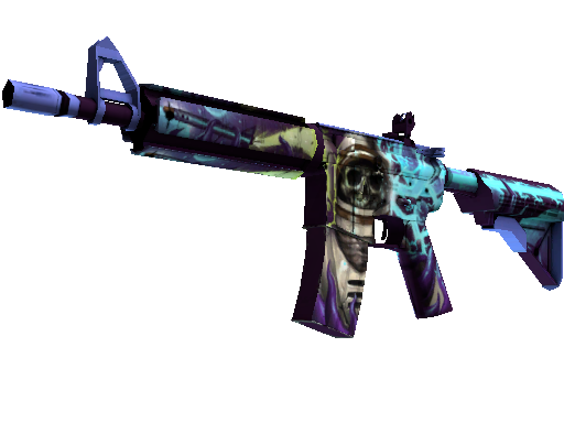 M4A4 StatTrak™ | Desolate Space (Algo desgastado)