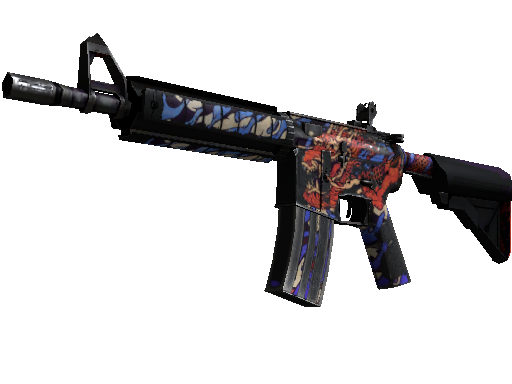 M4A4 StatTrak™ | 龍王 (Rey Dragón) (Deplorable)