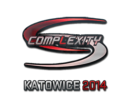 Pegatina | compLexity Gaming (holográfica) | Katowice 2014