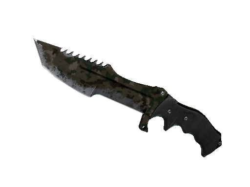 Cuchillo del Cazador ★ StatTrak™ | DDPAT de Bosque (Deplorable)