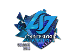 Pegatina | Counter Logic Gaming (holográfica) | Colonia 2016