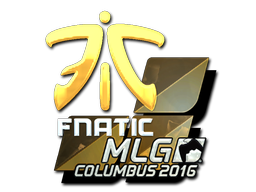 Pegatina | Fnatic (reflectante) | MLG Columbus 2016