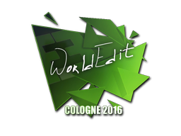 Pegatina | WorldEdit | Colonia 2016