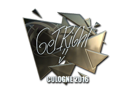 Pegatina | GeT_RiGhT (reflectante) | Colonia 2016