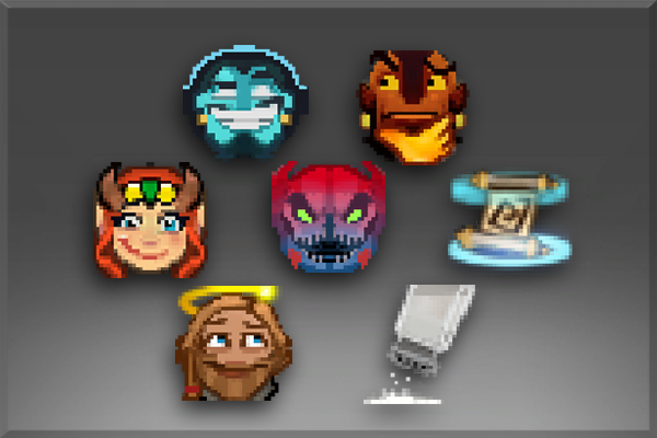 Pack de Emoticonos I de The International 2015