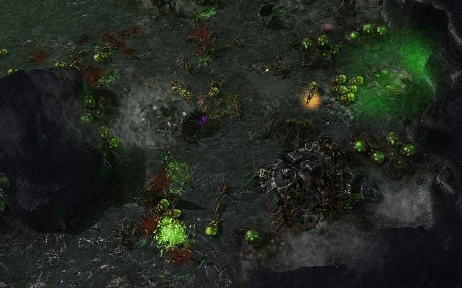Starcraft 2: Heart of the Swarm (EU) Screenshot 1