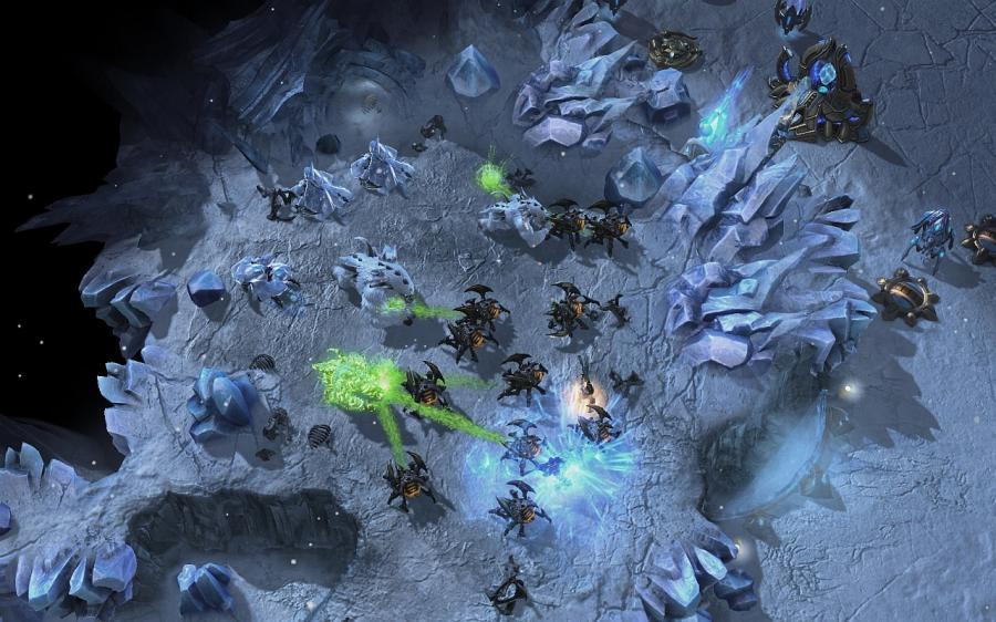 Starcraft 2: Heart of the Swarm (EU) Screenshot 2