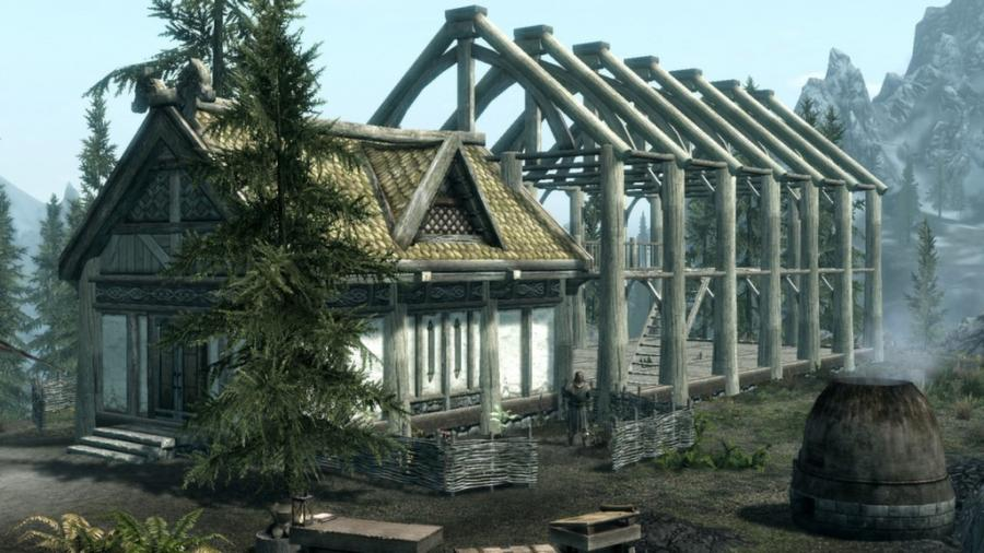 The Elder Scrolls V: Skyrim - Hearthfire (extensión) Screenshot 2