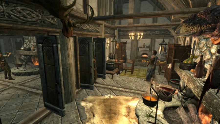 The Elder Scrolls V: Skyrim - Hearthfire (extensión) Screenshot 3