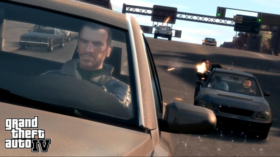 GTA 4 - Grand Theft Auto IV Screenshot 1