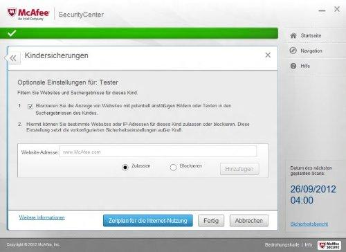 McAfee Internet Security 2016 (1 PC) Screenshot 5