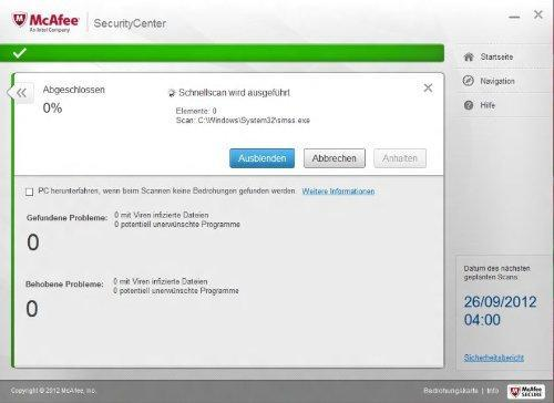 McAfee Internet Security (3 PC) Screenshot 7