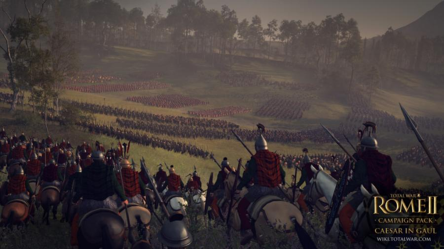 Total War Rome 2 - Caesar in Gaul DLC Screenshot 1