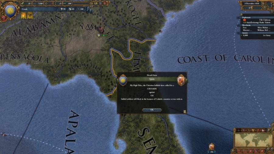 Europa Universalis IV - Conquest of Paradise (extensión) Screenshot 3