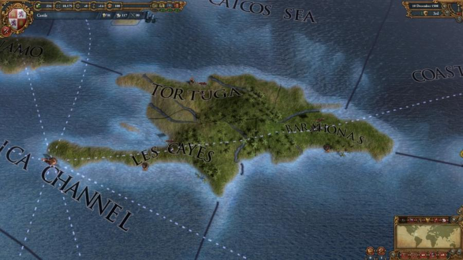 Europa Universalis IV - Conquest of Paradise (extensión) Screenshot 1
