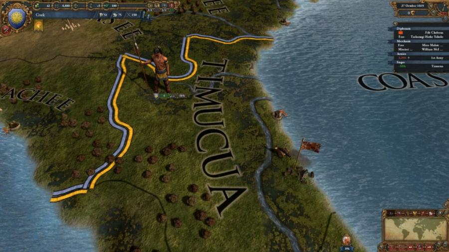 Europa Universalis IV - Conquest of Paradise (extensión) Screenshot 6